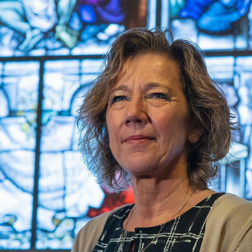 Minka Sterkens (manager beschermde woonvorm): zorgde dat haar woongroep met bewoners met beperking niets tekort kwam